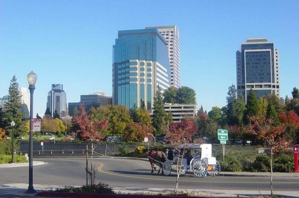 Sacramento From the River Walk